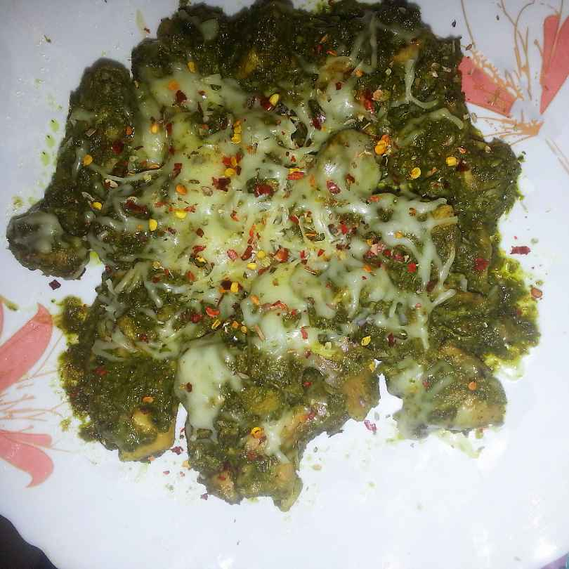 Photo of Palak Chicken by Shaheda T. A. at BetterButter