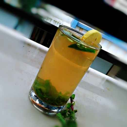 Photo of Mint Lemon Ice Tea by Shaheda T. A. at BetterButter