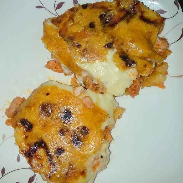 Photo of Pizza cheese roti by Shaheda T. A. at BetterButter