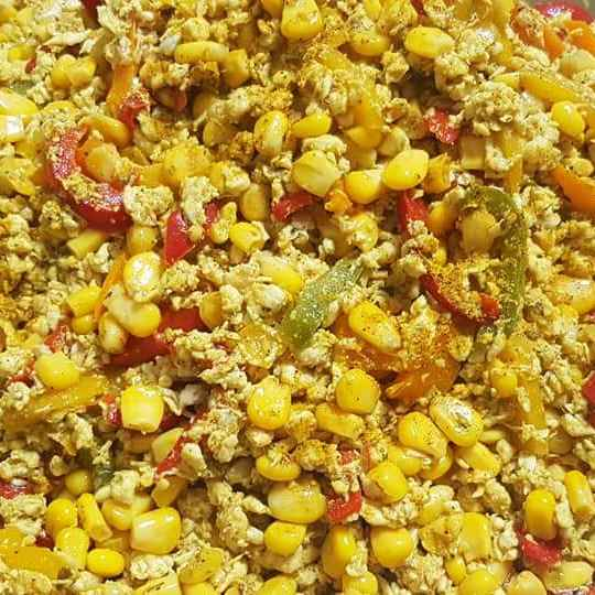 Photo of Corn paneer bhurji by Shaheda T. A. at BetterButter