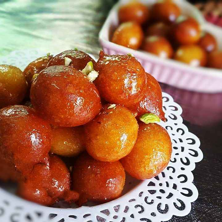 Photo of Shahi Gulab Jamun by Shaheda T. A. at BetterButter