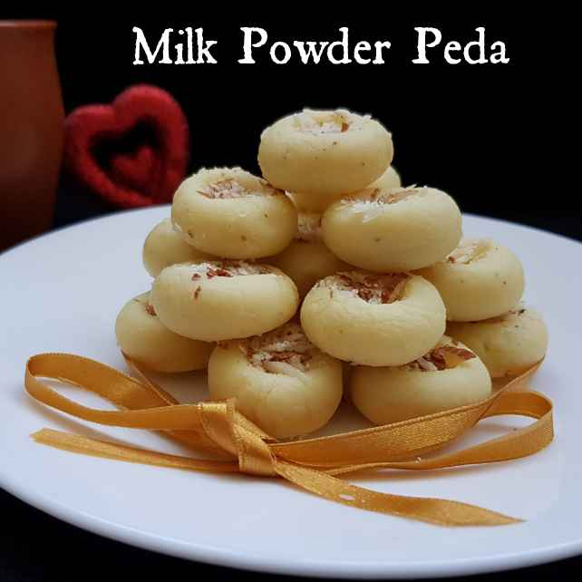 How to make MILK POWDER PEDA