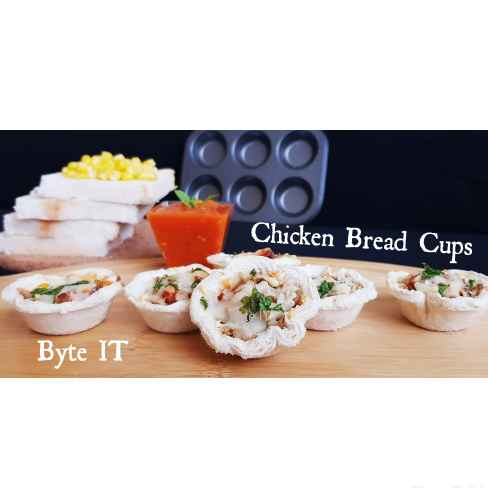 Photo of CHICKEN BREAD CUPS by Byte IT at BetterButter