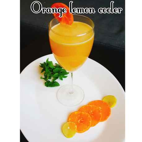 How to make ORANGE LEMON COOLER