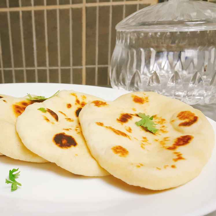How to make BUTTER NAAN