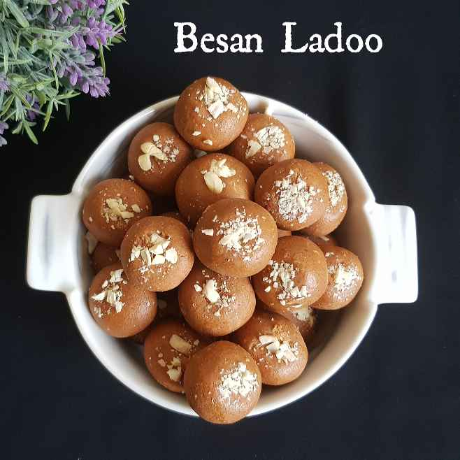 Photo of BESAN LADOO by Byte IT at BetterButter