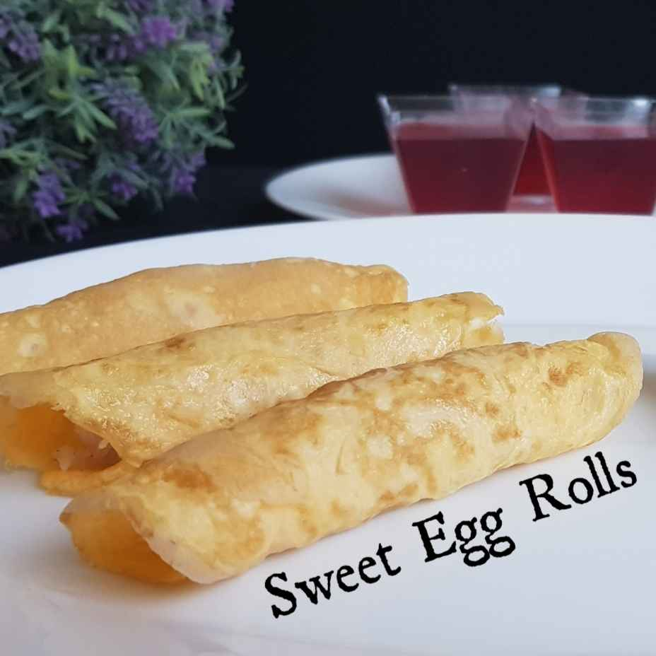 Photo of SWEET EGG ROLL by Byte IT at BetterButter