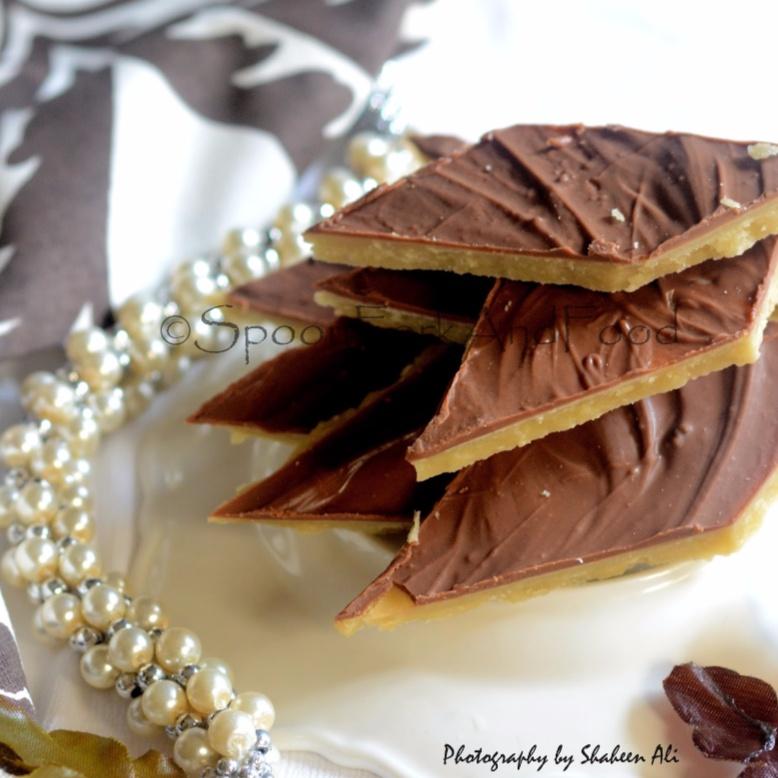 Photo of Chocolate kaju katli /Cashewnut glaze with chocolate glaze by Shaheen Ali at BetterButter