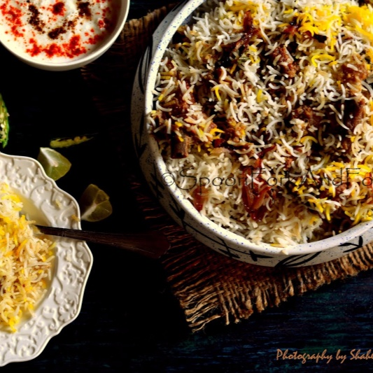 How to make Hyderabadi Mutton Dum ki Biryani