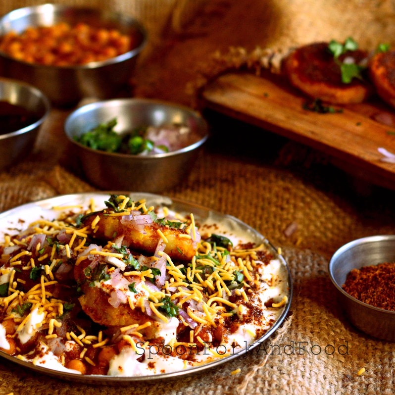 Photo of Aloo tikki chaat by Shaheen Ali at BetterButter