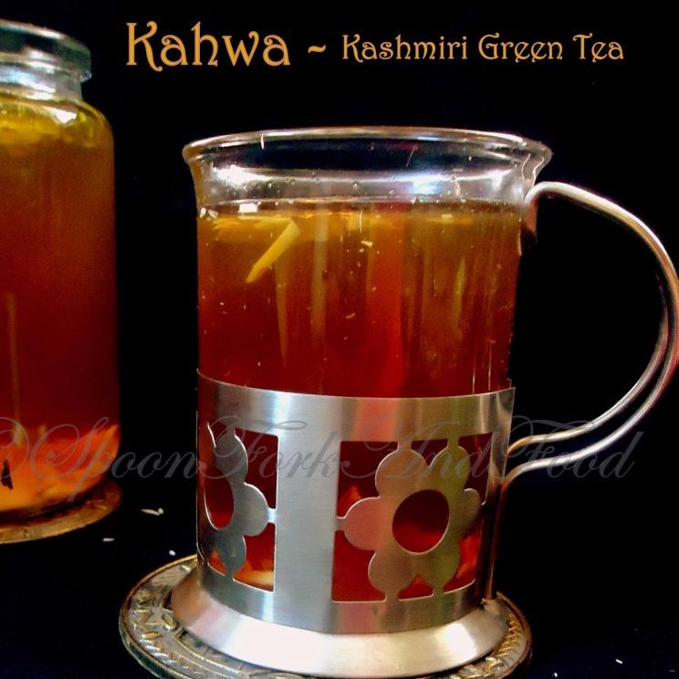 How to make KAHWA ~ Kashmiri Green Saffron Tea!