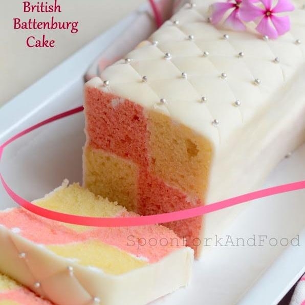 Photo of BRITISH BATTENBURG CAKE by Shaheen Ali at BetterButter
