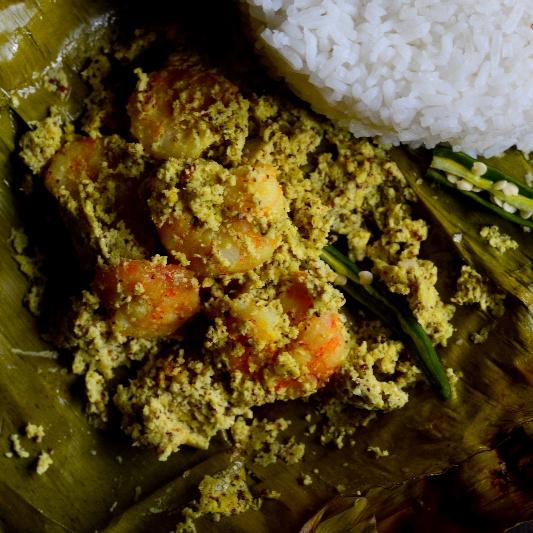 How to make Chingri Paturi