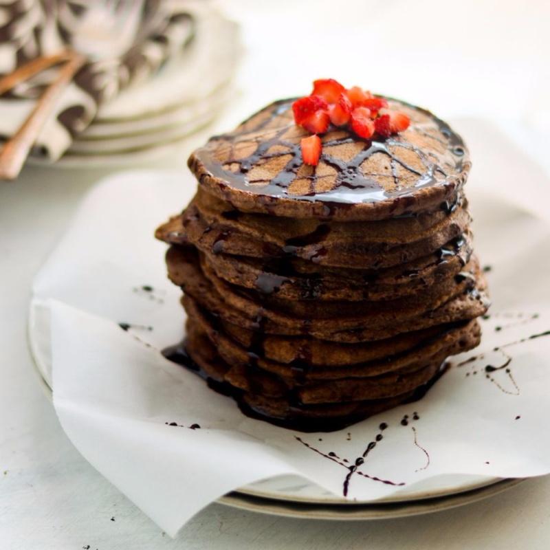 Photo of Ragi Chocolate Pancake by Shaheen Ali at BetterButter