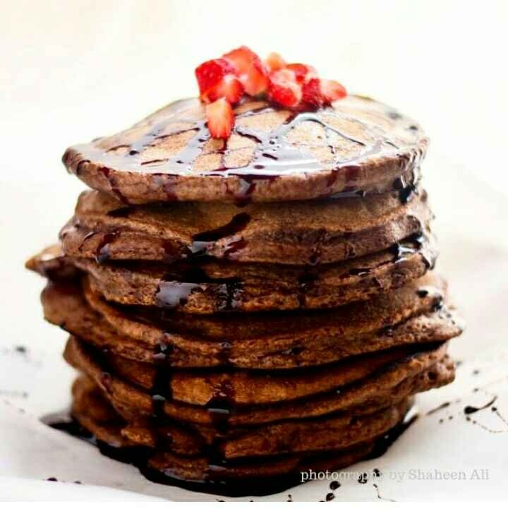 How to make Ragi & Chocolate Pan Cakes