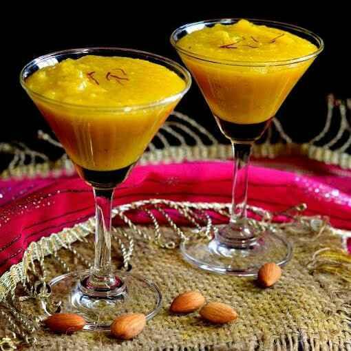 How to make Kesar Badam Halwa
