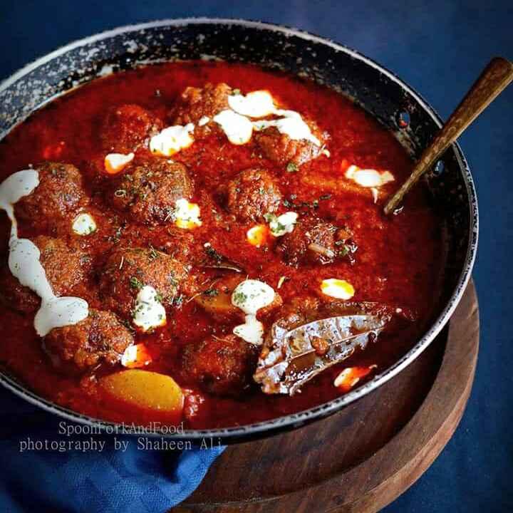 Photo of Kashmiri Shab Deg - Slow Cooked Kashmiri Meat Ball & Turnip Curry by Shaheen Ali at BetterButter