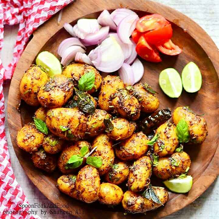 How to make Spicy Baby Potatoes