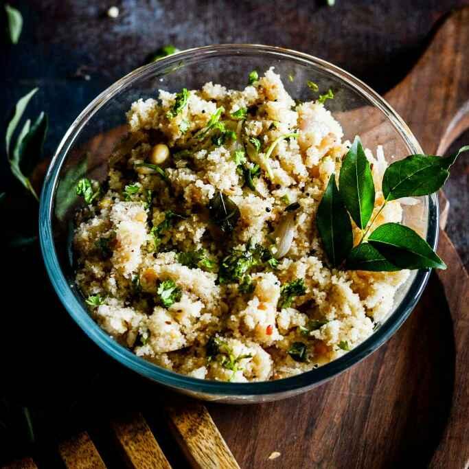 How to make Rice Rawa Upma