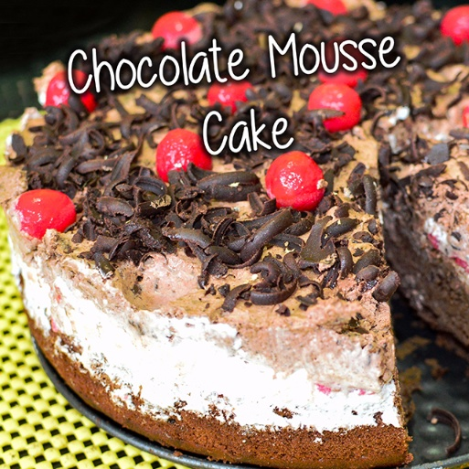 How to make Chocolate Mousse Cake( Egg less)