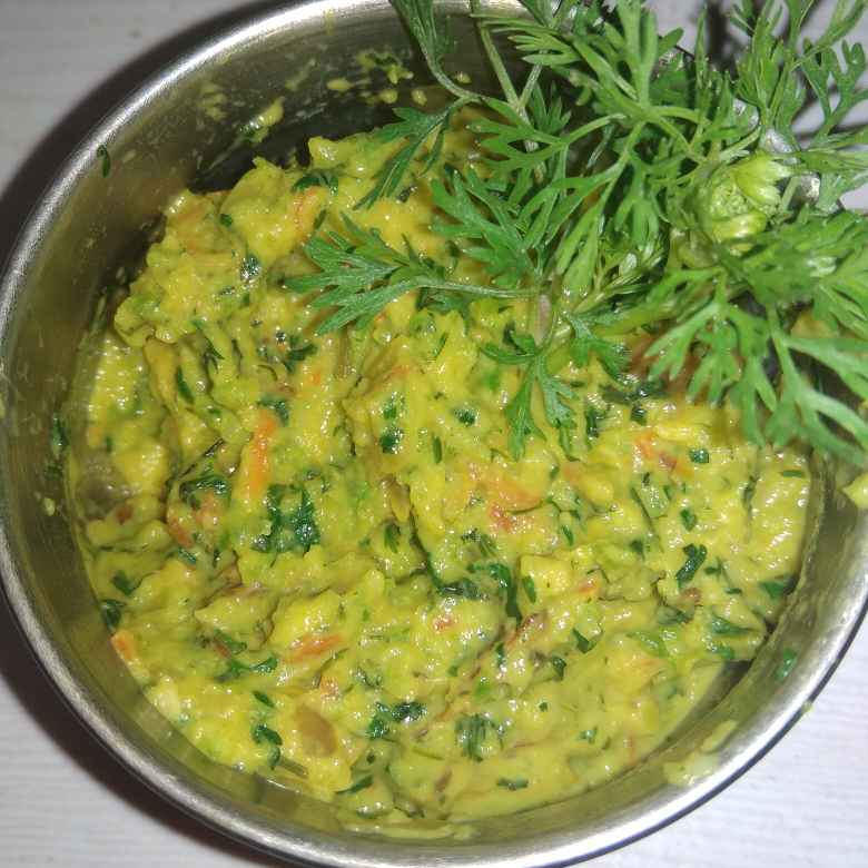 How to make Ridge gourd chutney