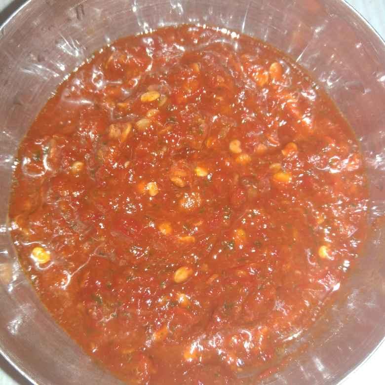 Photo of Dried red chilli chutney by Shaila Kattikar at BetterButter