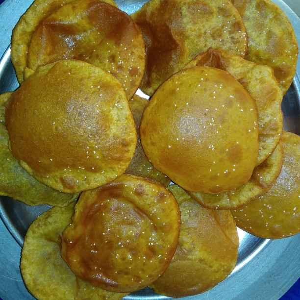 How to make Pumpkin buns