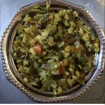 Photo of Spring Onion Palya by Shaila Kattikar at BetterButter