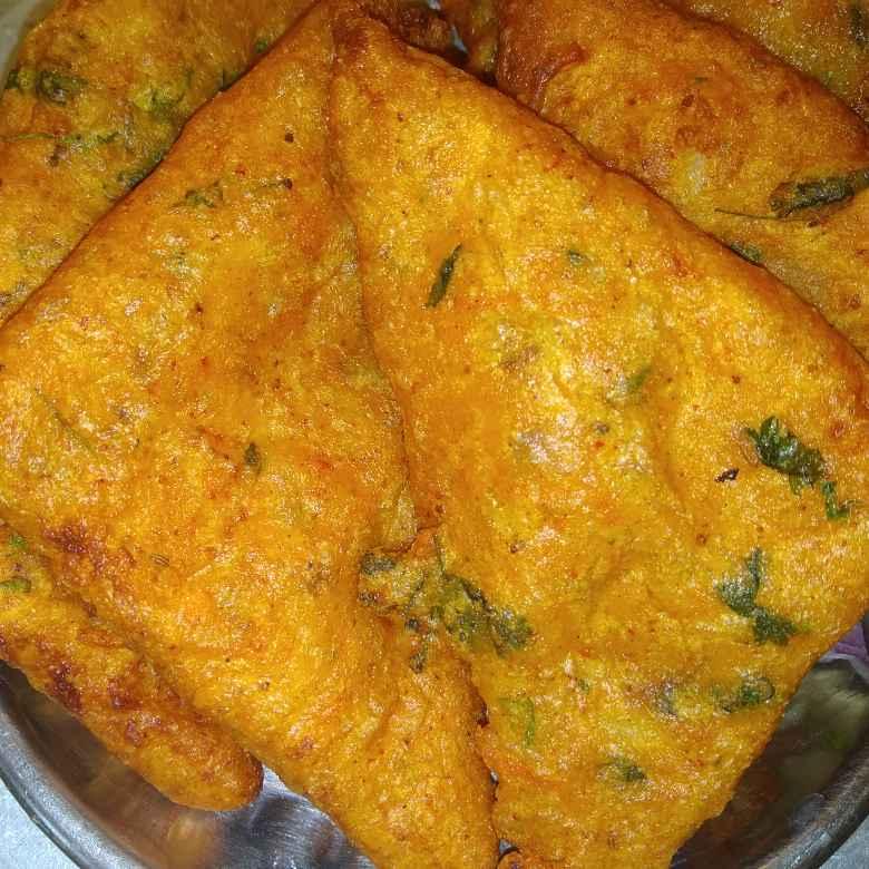 Photo of Bread veg besan roast by Shaila Kattikar at BetterButter