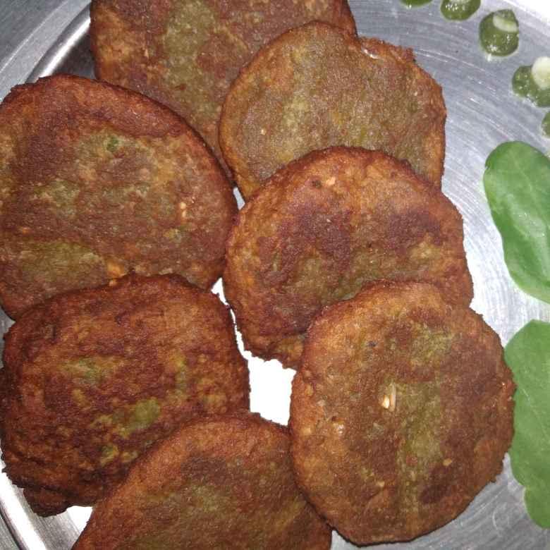 How to make Spinach chole tikki