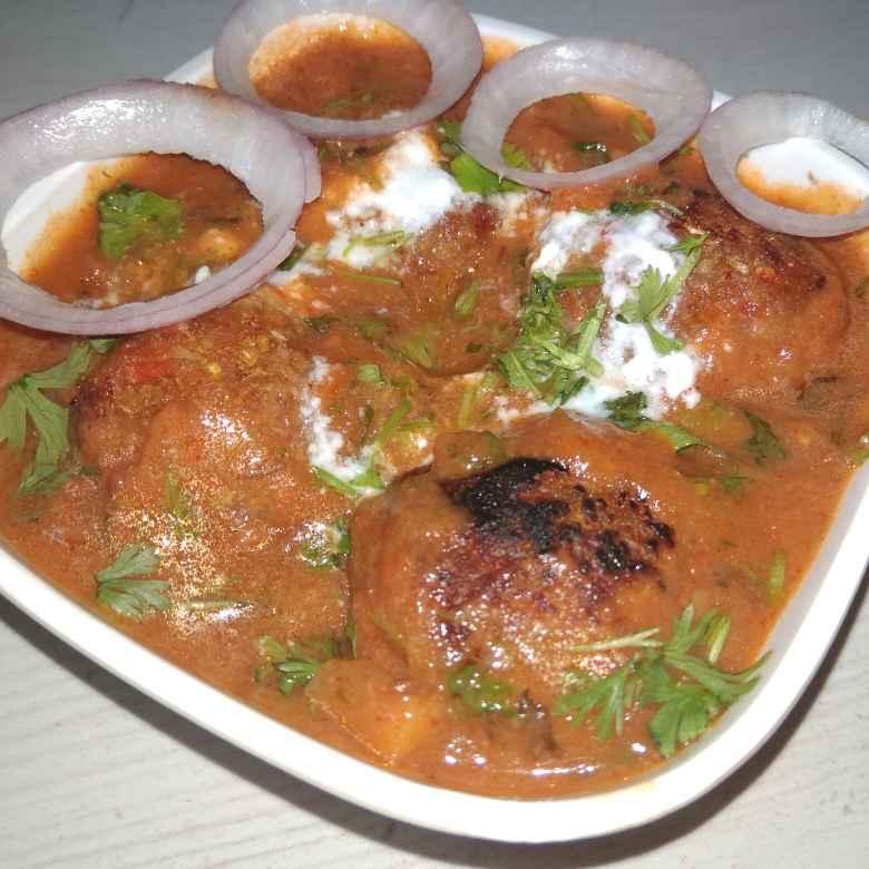 How to make Veg Oats kofta Curry