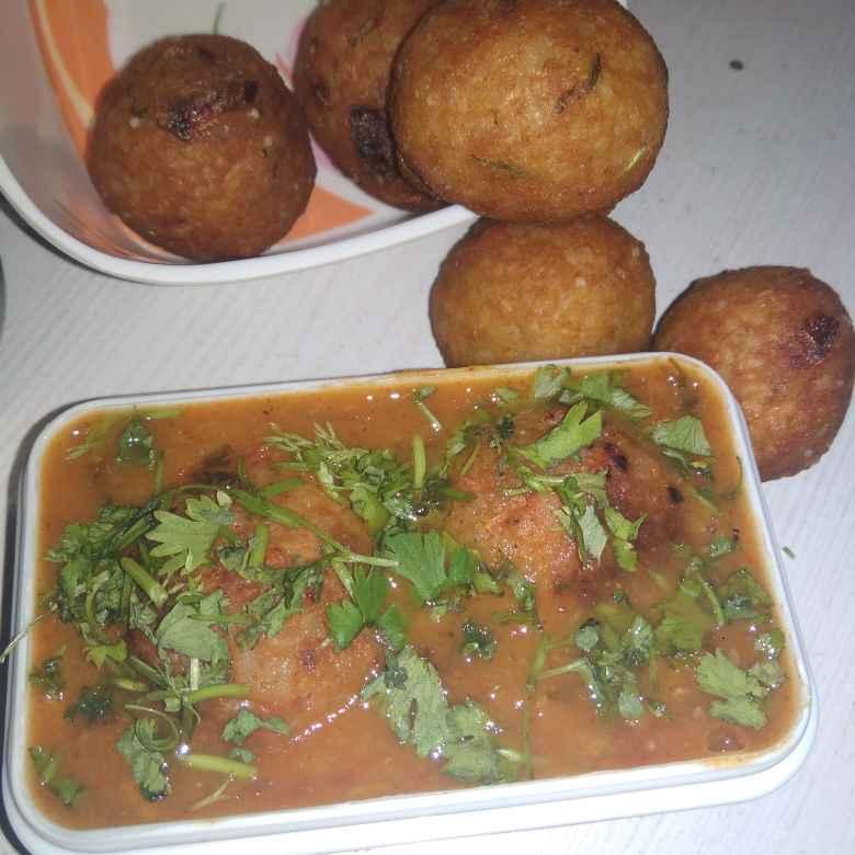Photo of Leftover Rice Kofta Curry by Shaila Kattikar at BetterButter