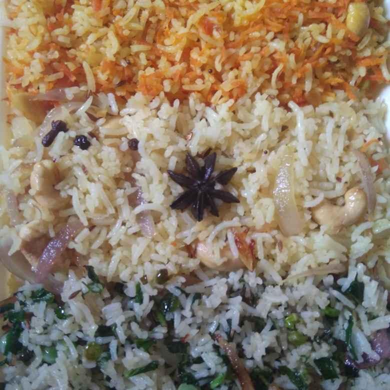 Photo of Tricolour Pulav (Rice) by Shaila Kattikar at BetterButter