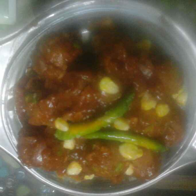 Photo of Mix dal and peas manchurian by Shailee Neema at BetterButter