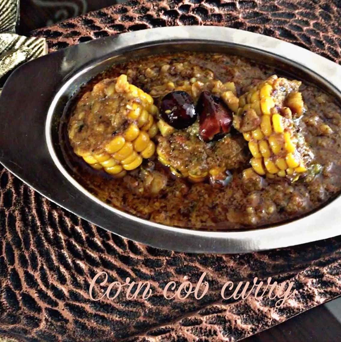 How to make Corn cob curry