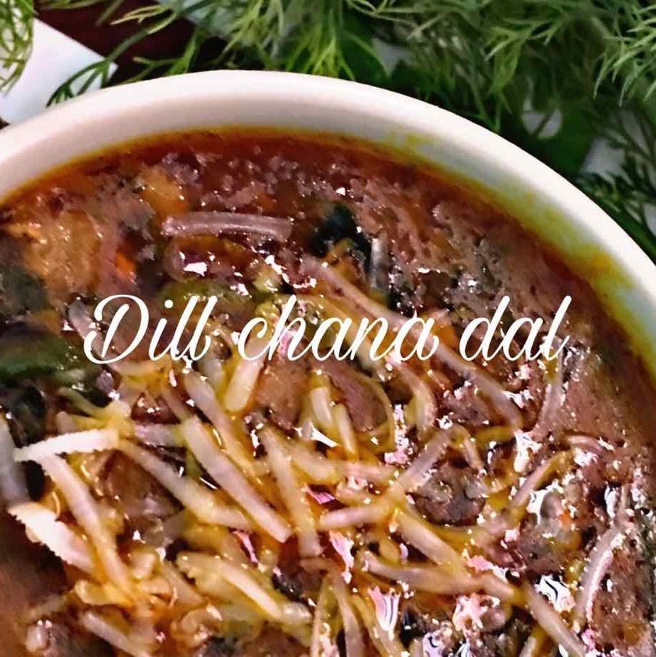 How to make Dill chana dal