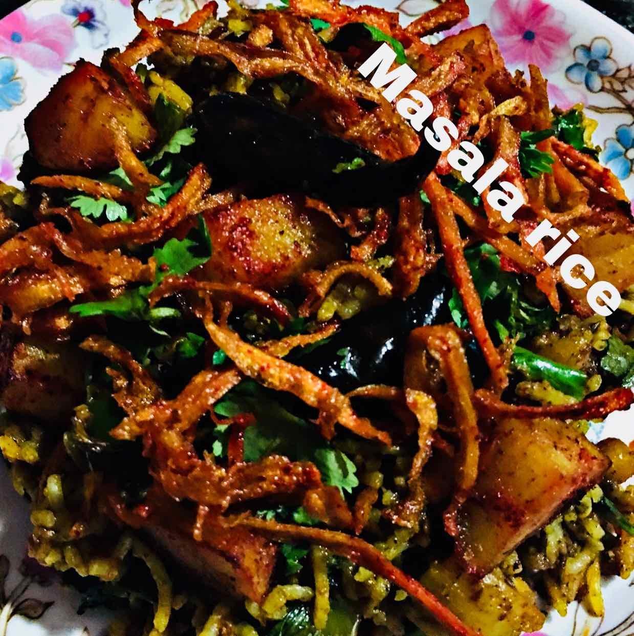 How to make Masala rice