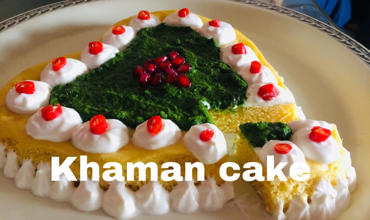 How to make Khaman cake