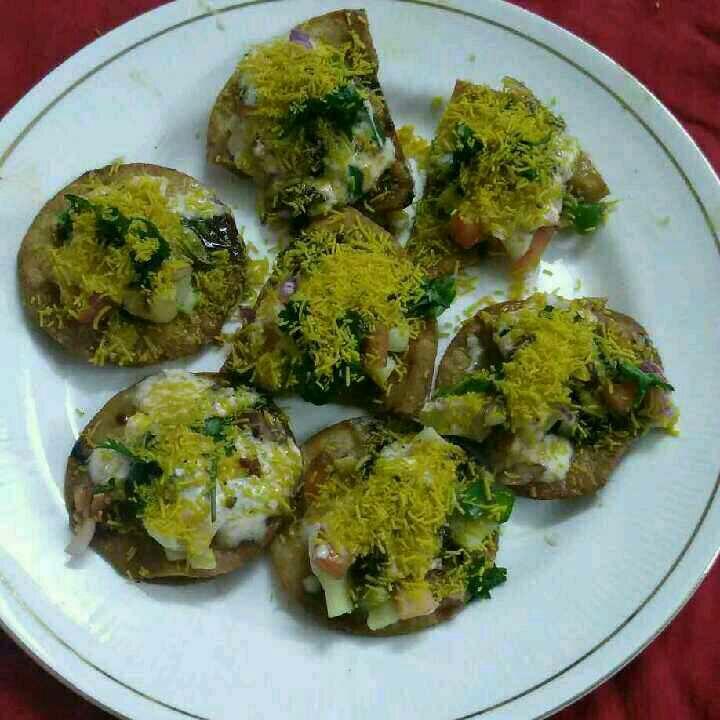 How to make Roti Papdi chaat