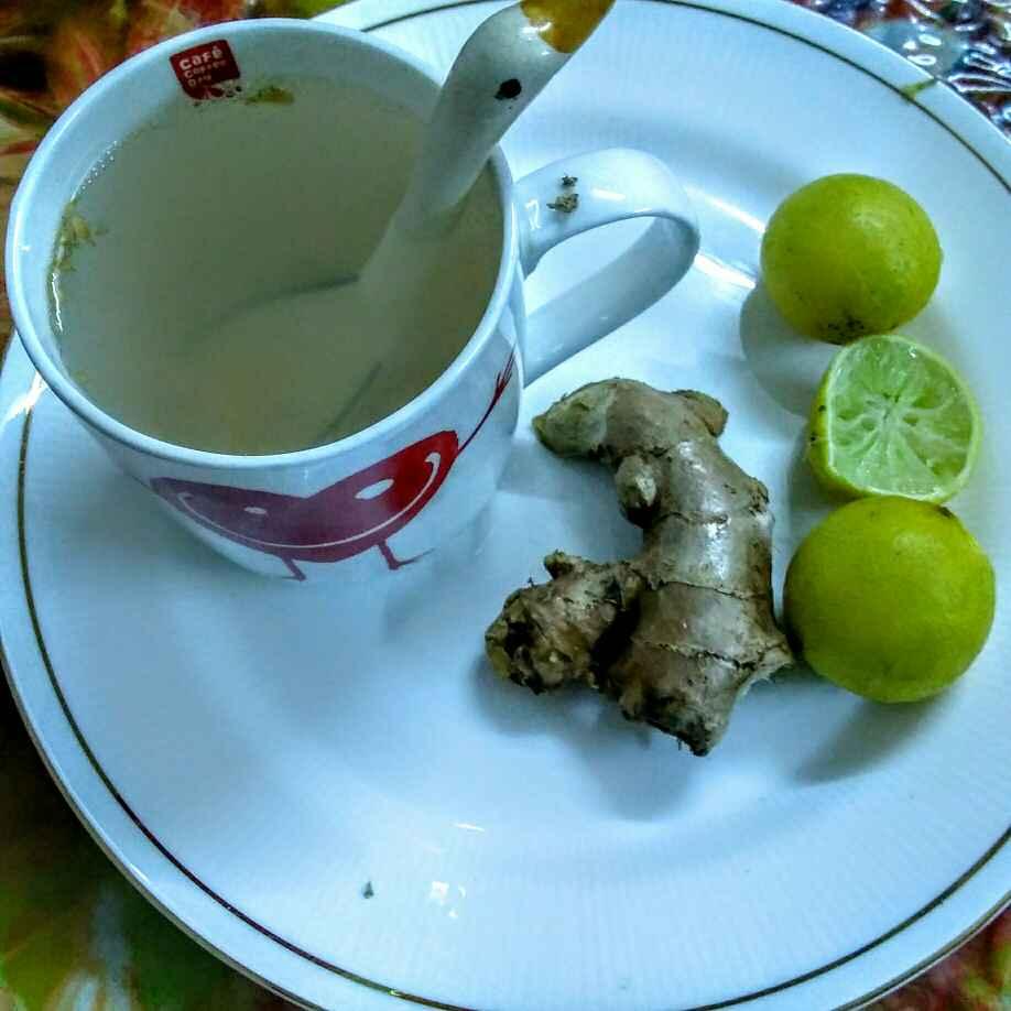 Photo of Ginger lemon tea by Shakuntla Tulshyan at BetterButter