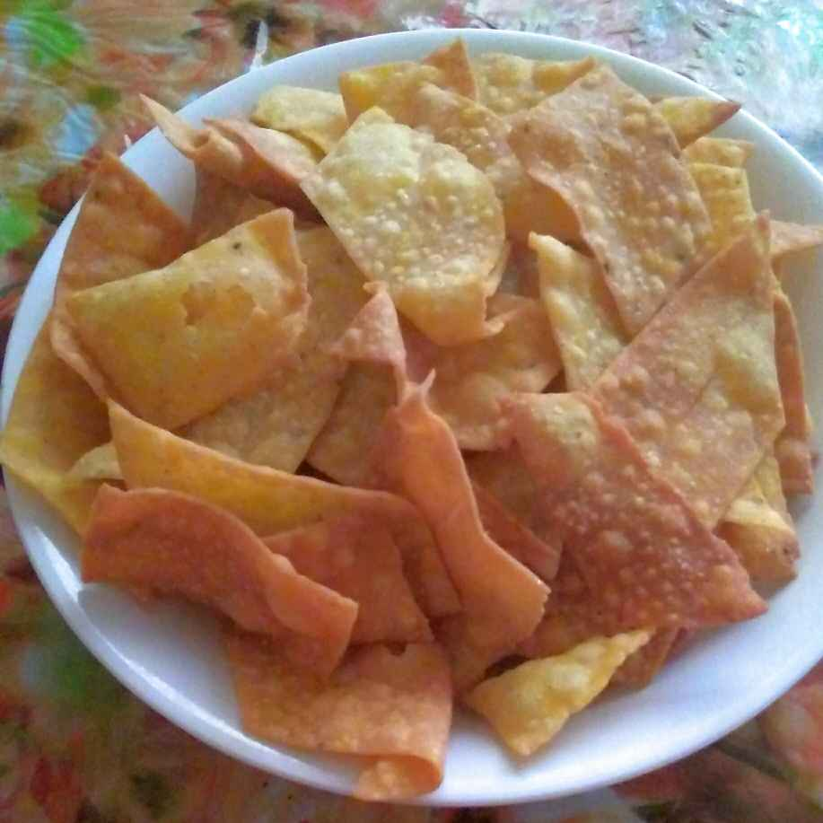 How to make Crispy nachos chips