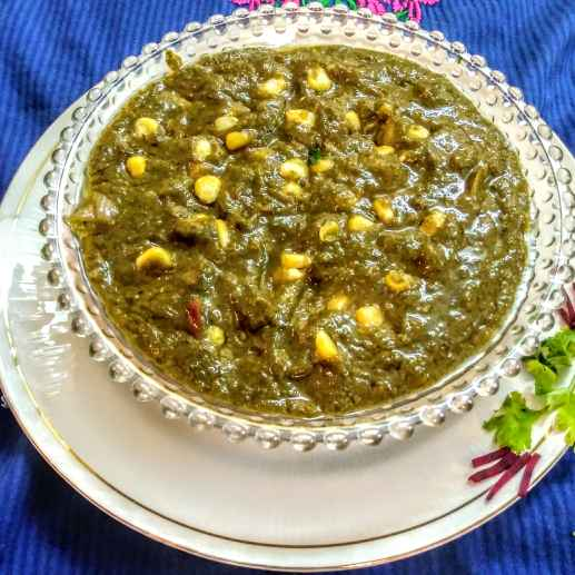 How to make Methi corn malai
