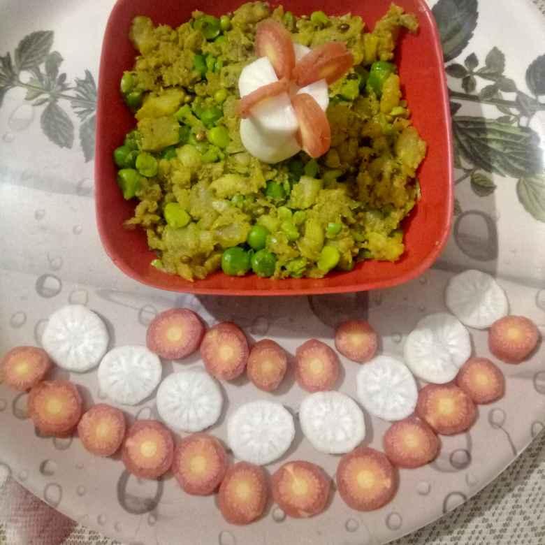 How to make मटर शलगम