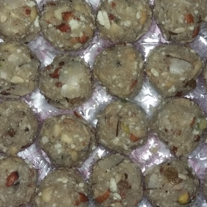 How to make Dry Fruit Ladoo