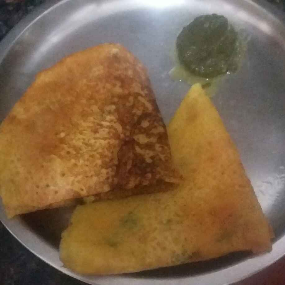 How to make Instant Moong Dal Dosa