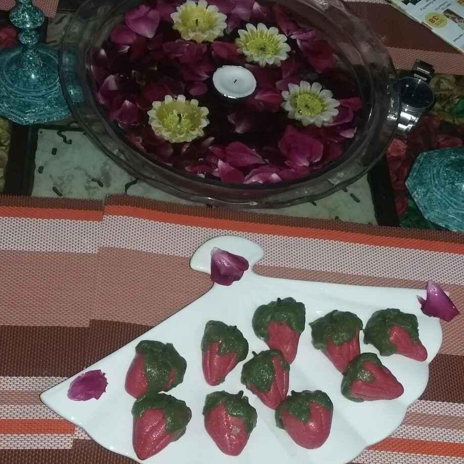 How to make Kaju Strawberry