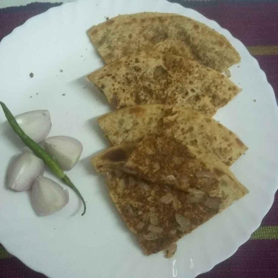 How to make sattu n pickle masala onion paratha