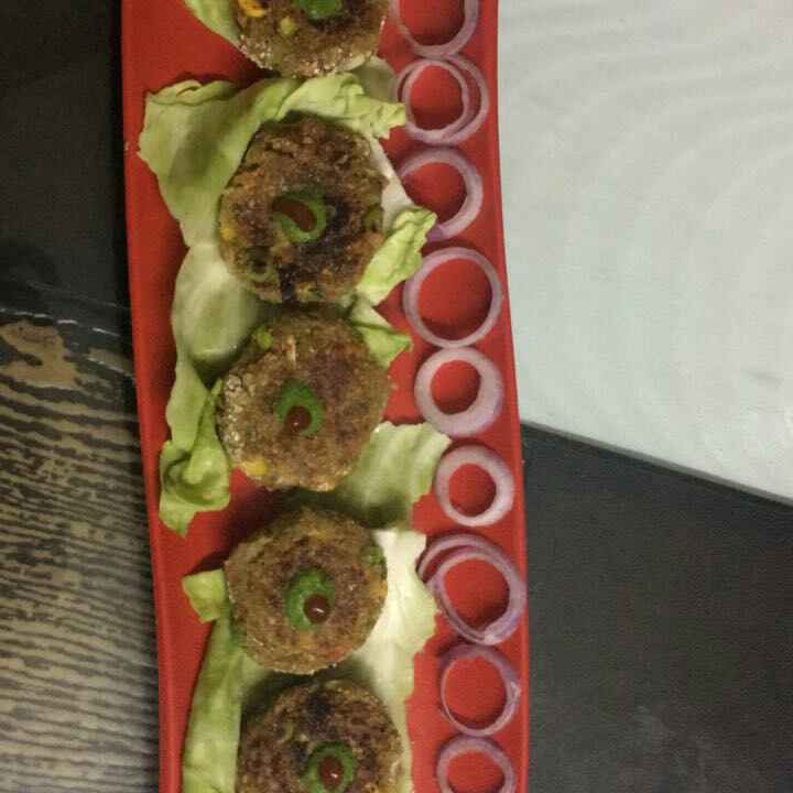 How to make Veggie oats kabab with paneer filling
