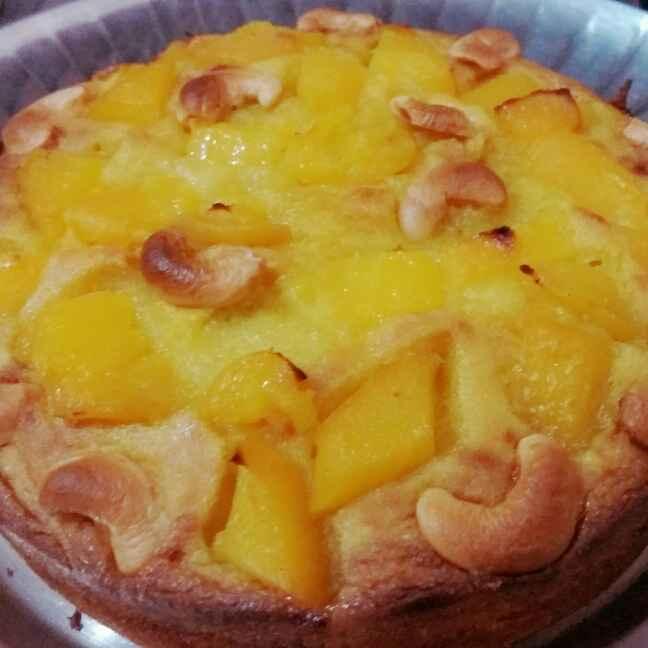 Photo of Mango semolina cake by Shalini Ahuja at BetterButter