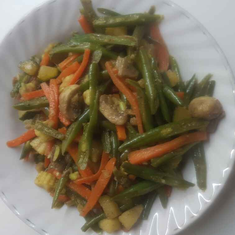 How to make Stir fried mixed vegetable